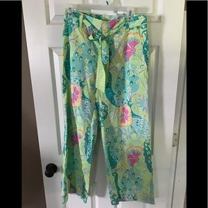 Lilly Pulitzer wise leg pants